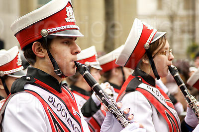 London New Year Parade-Bloomingdale High School Rajun Bull Band
