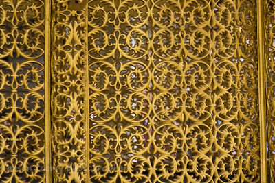 Mosque lattice screen