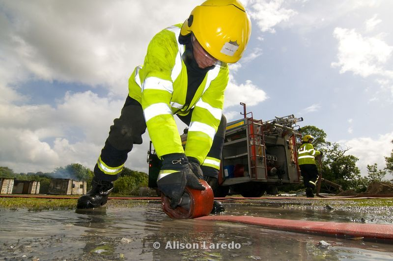 Mayo Fire Service training day
