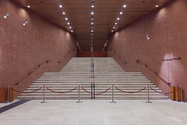 Auditorium Rome. Architecte : R. Piano