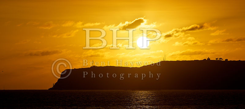 Point Loma Sunset Photo