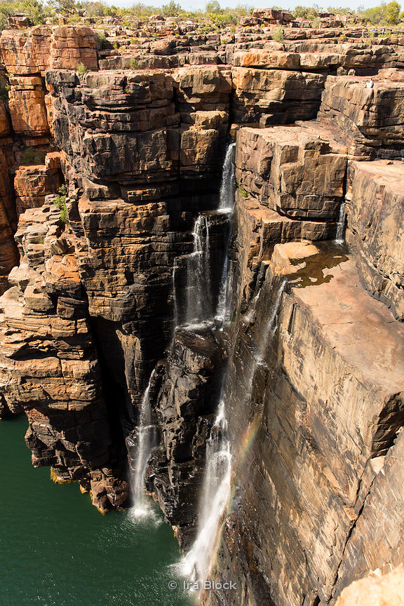 Looking over King George Falls on the KIng George River in Australia's Kimberley.