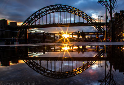 Tyne Bridge Reflection