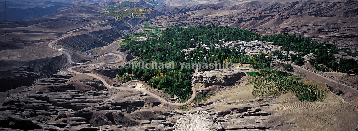 Alamut, Castle of the Assassins, aerial view