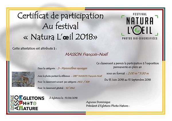 Natura l'œil photos