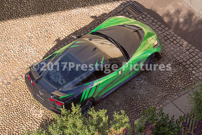 C7 Corvette Stingray (Crosshairs) in the Transformers 5 movie
