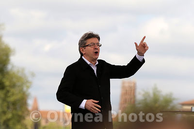 Jean Luc MELENCHON  photos, pictures, picture, agency