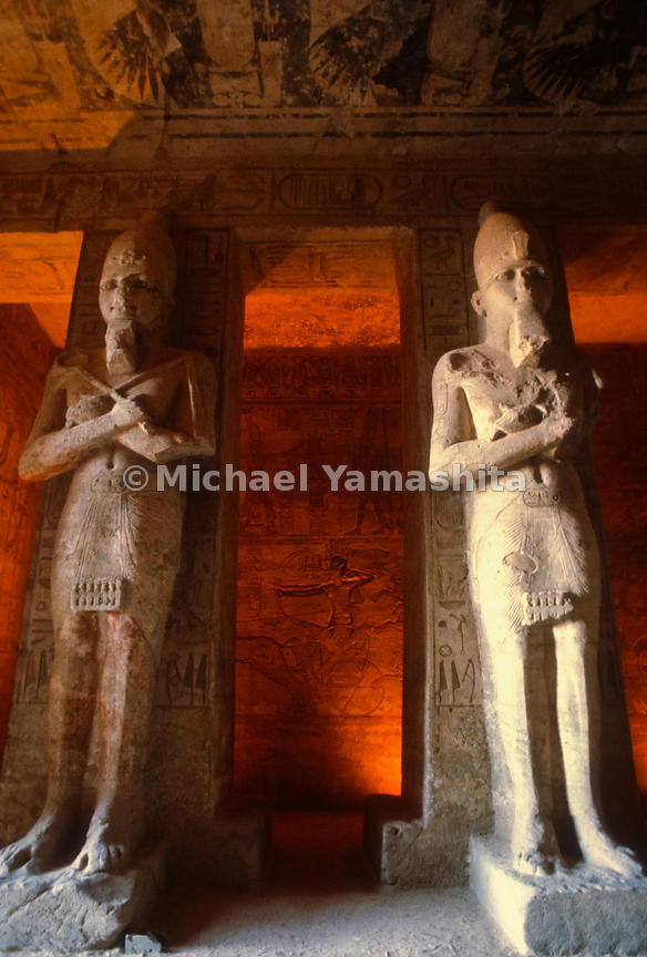 Nubian Monuments from Abu Simbel to Philae.