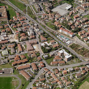 Torre Boldone aerial photos