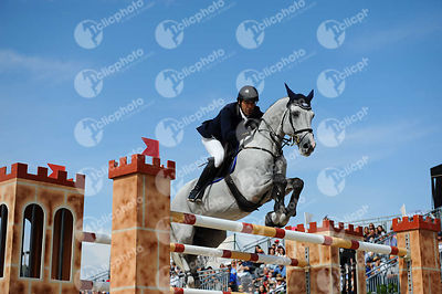 Gerardo MENENDEZ MIERES ,(ESP), CASSINO DC during Longines Cup of the City of Barcelona competition at CSIO5* Barcelona at Real Club de Polo, Barcelona - Spain