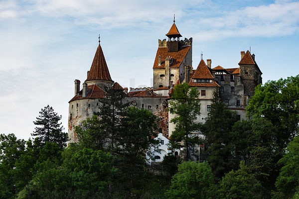 The Back Side of Bran Castle