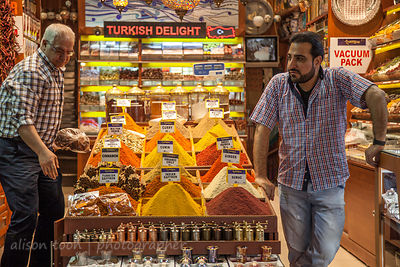 Spices for sale in the Egyptian Spice Market, Istanbul
