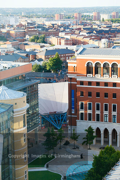 Brindleyplace, Birmingham, West Midlands, showing the Sea Life Centre.
