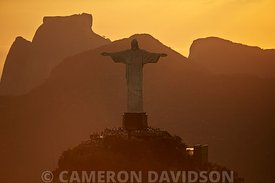 "Aerial photograph of ""Christ the Redemmer statue in Rio, Brazil"