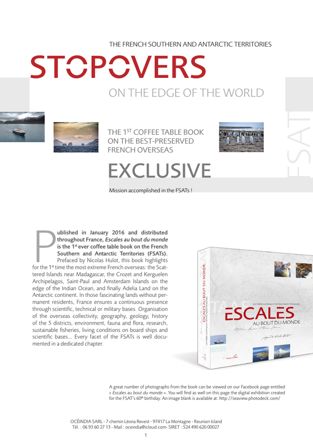 Stopovers on the edge of the world