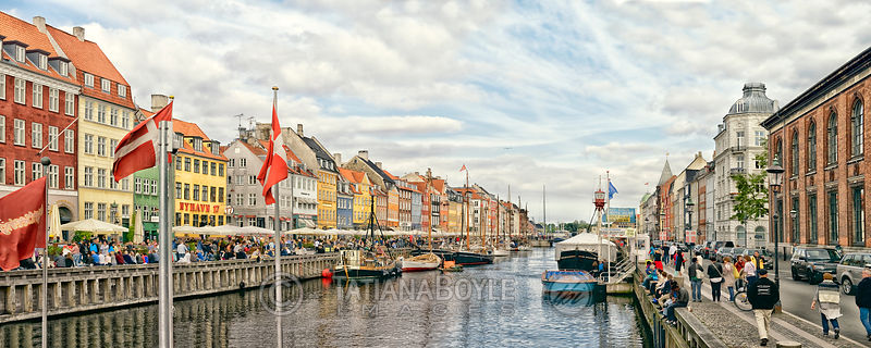 Nyhavn in the afternoon