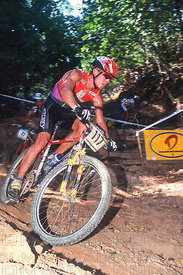 THOMAS FRISCHKNECHT, GOLD MEDAL WINNER, CAIRNS, AUSTRALIA. UCI WORLD CHAMPIONSHIPS 1996
