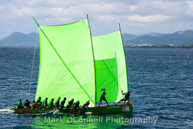 Racing yacht Martinique