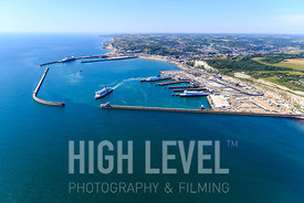 Aerial Photography Taken In and Around Dover-Dover Ferry Port