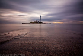 St. Mary's Lighthouse long exposure