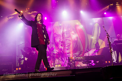 Steve Hogarth, vocals, Marillion, Sunday evening, PZ, 2015
