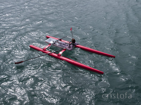 ROCAT proto-3 with a novice rower