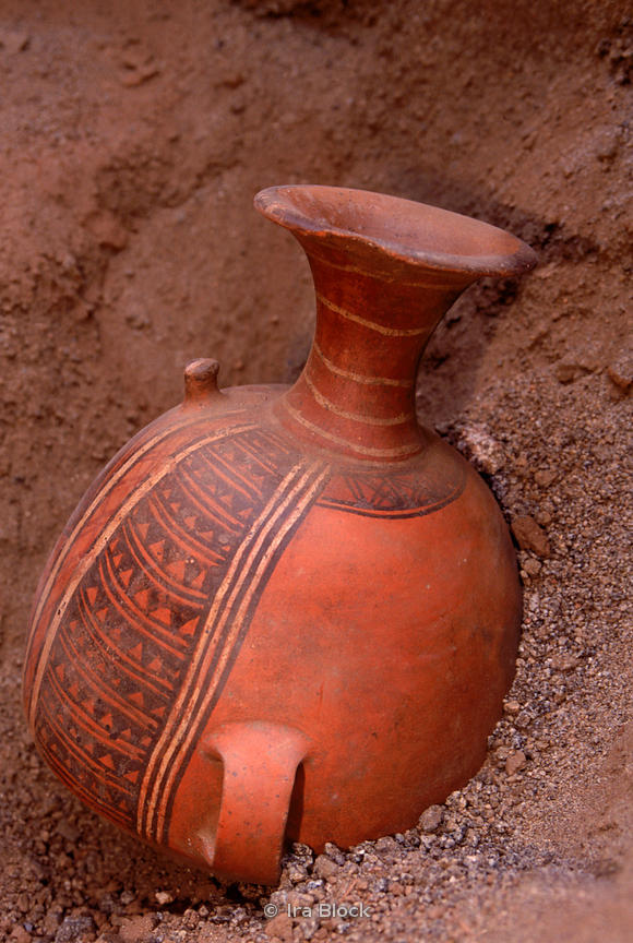 discovery of anciennt pottery