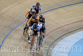 Junior Men Keirin 7-12 Final. 2016/2017 Track O-Cup #1, Mattamy National Cycling Centre, Milton, On, December 4, 2016