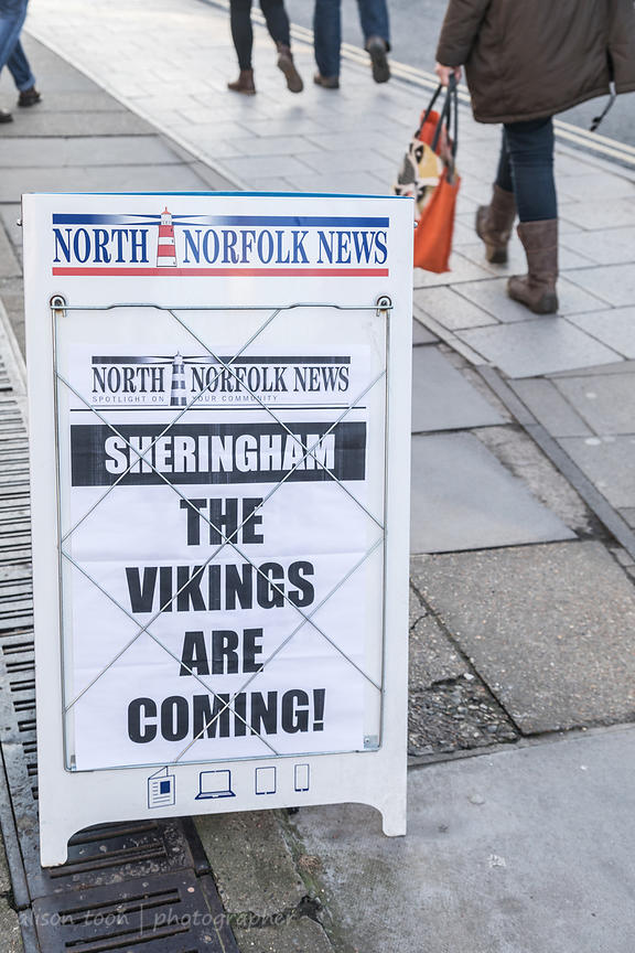 Sheringham Viking Festival 2018 photos