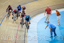 U17 Men Keirin Round 1 Ontario Track Provincial Championships, March 6, 2016