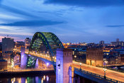 Rush Hour on the Tyne Bridge