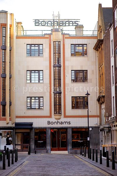 Building where Bonham the Fine Art Auctioneers are Based in London