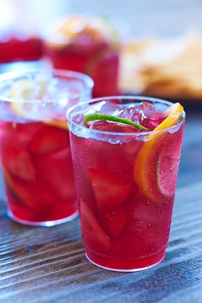 Red Wine Sangria Drink
