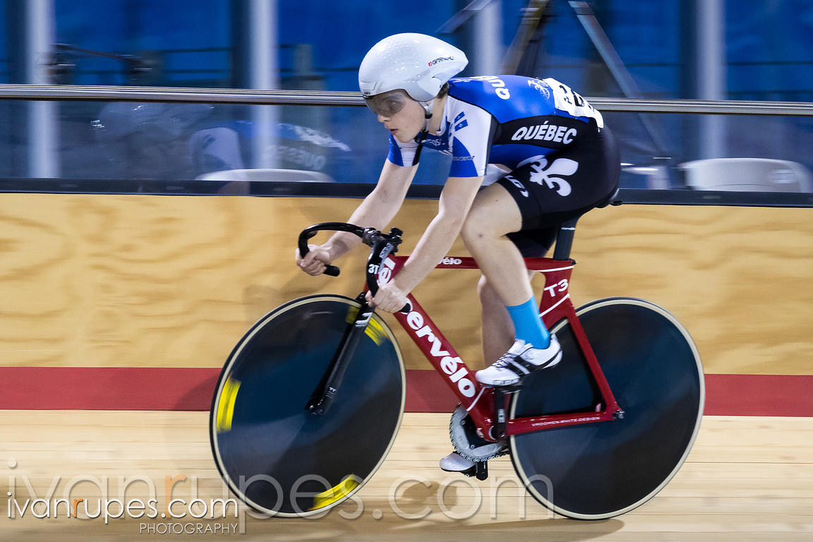 Junior Men Sprint Qualification. 2016/2017 Track O-Cup #3/Eastern Track Challenge, Mattamy National Cycling Centre, Milton, On, February 11, 2017