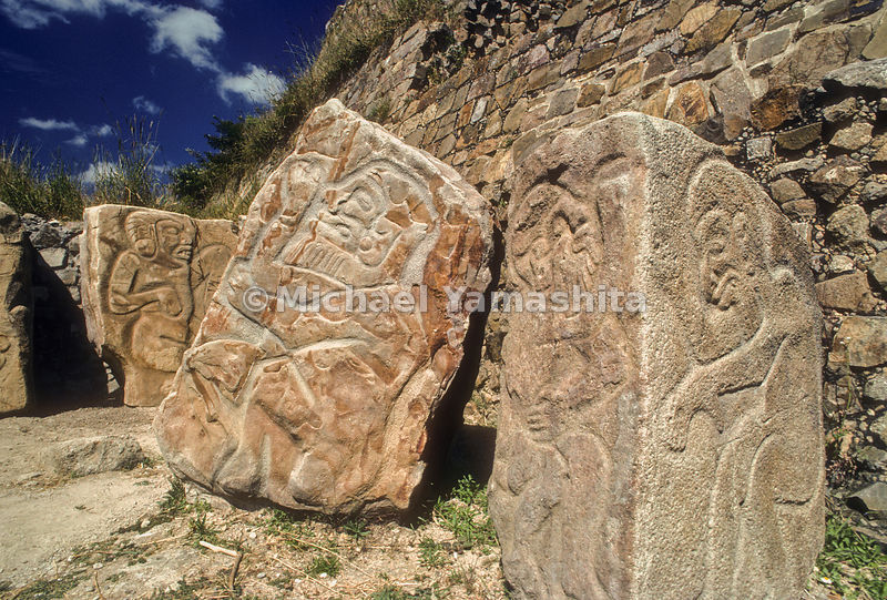Historic Centre of Oaxaca and Archaeological Site of Monte Albán, Mexico.Archaelogical Site of Monte Alban