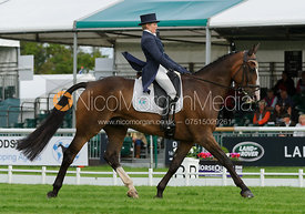 Louise Harwood and MR POTTS - Burghley 2015