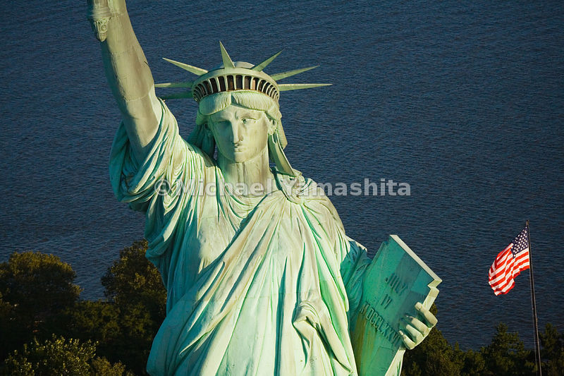 Though it is no longer possible to climb to the torch of the Statue of Liberty, her crown is accessible for those willing to make the 354-step ascent.