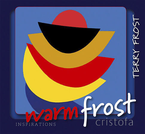 I designed a series of books on artists which Alison Hodge published - this is the cover of 'Warm Frost' about Sir Terry Frost