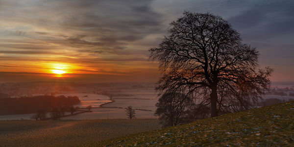 Cheshire Sunrise, Peckforton