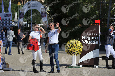 during Coca-Cola Trofey competition at CSIO5* Barcelona at Real Club de Polo, Barcelona - Spain