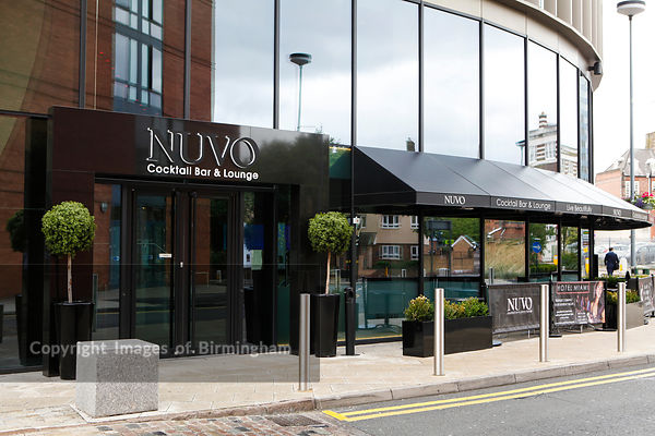 Nuvo Cocktail Bar and Lounge, Brindleyplace, Birmingham, West Midlands, England, UK
