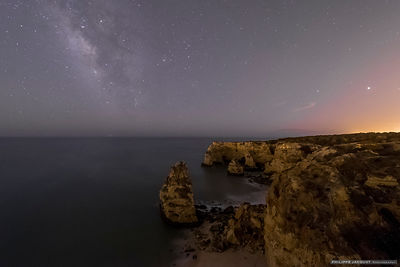 Milky Way and Jupiter in Algarve - Portugal