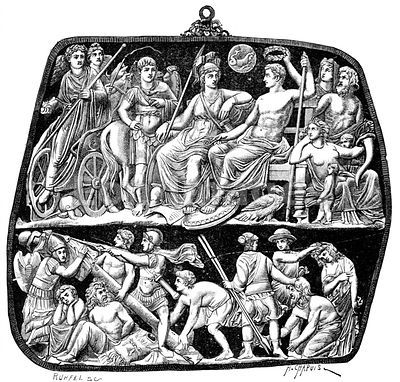 Triumph of Tiberius over Pannonians