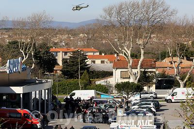 Terrorist attack in Trèbes France photos, pictures, picture, agency