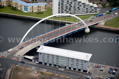 Finnieston Bridge, River Clyde, Glasgow