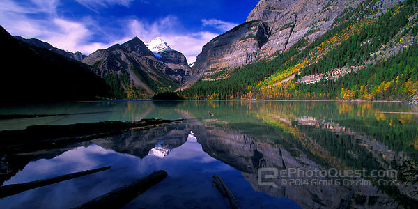 Mount Robson and Reflections