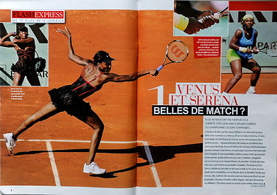 Venus Williams, Roland Garros, Gala N° 887 du 9 Juin 2010