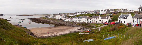 Portnahaven on south west coast of the Isle of Islay