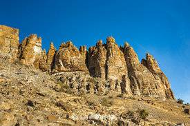 The Palisades in the Clarno Unit of John Day Fossil Beds National Monument