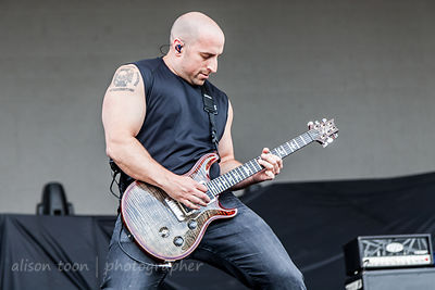 Mike Martin, guitar, All That Remains